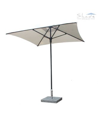 Stellar Cafe Push Up Aluminium Parasol