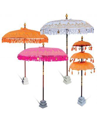 Bali Decorative Celebration Umbrella - Balinese Parasol