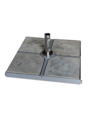 120kg 4 x 4 Metal Cross Parasol Base Frame (4x30kg Concrete Base)