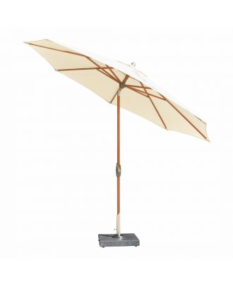 wind up parasol with crank & tilt