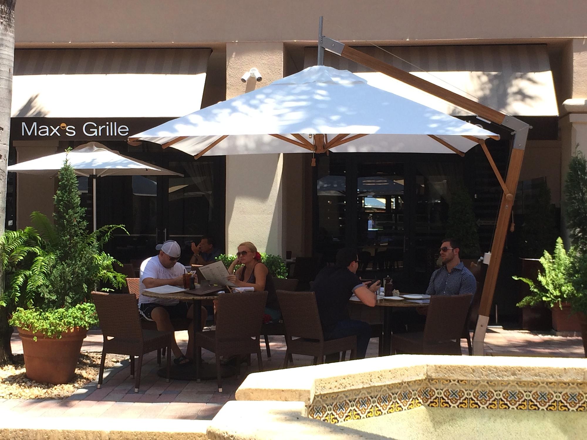 Bambrella Levante 3m Square Parasol