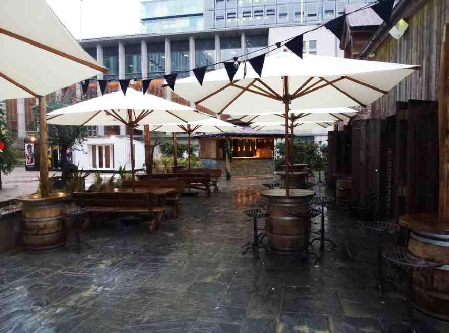 Bambrella 3m Square Parasol