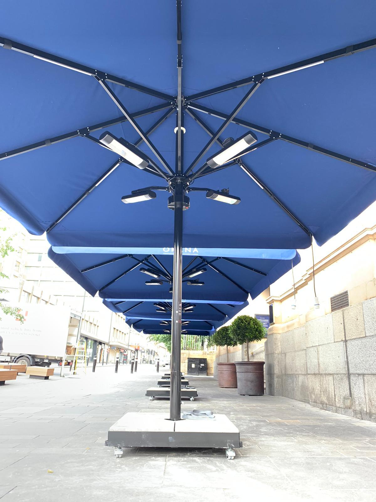 Sanvannah 4m Large Parasol - Okhana public house