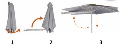 3 step easy operation
