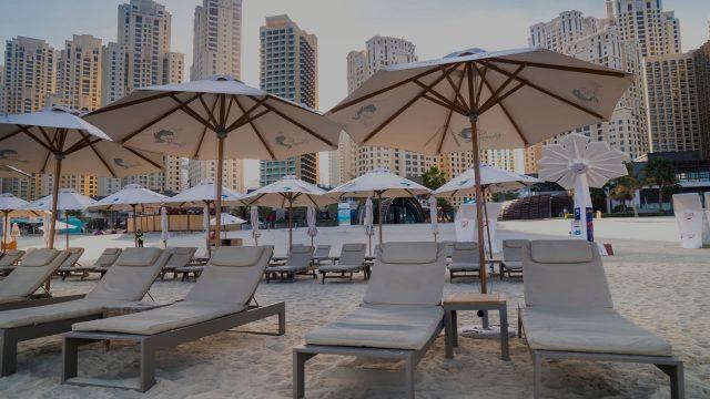 hotel parasols
