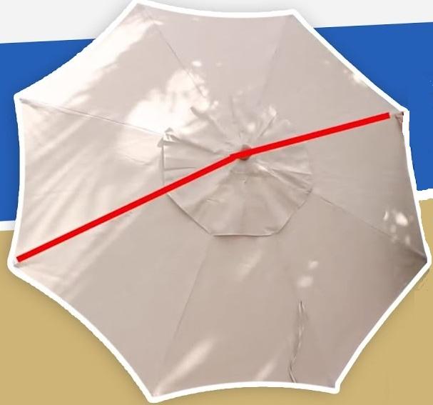 umbrella arch diameter