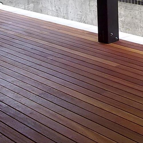 bamboo deck - details