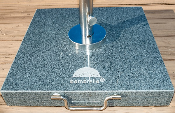 premium granite parasol base