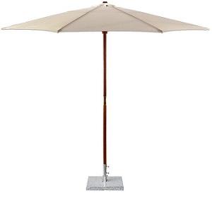 free standing parasol