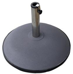 concrete round parasol base