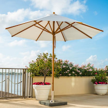 traditional parasol free standing