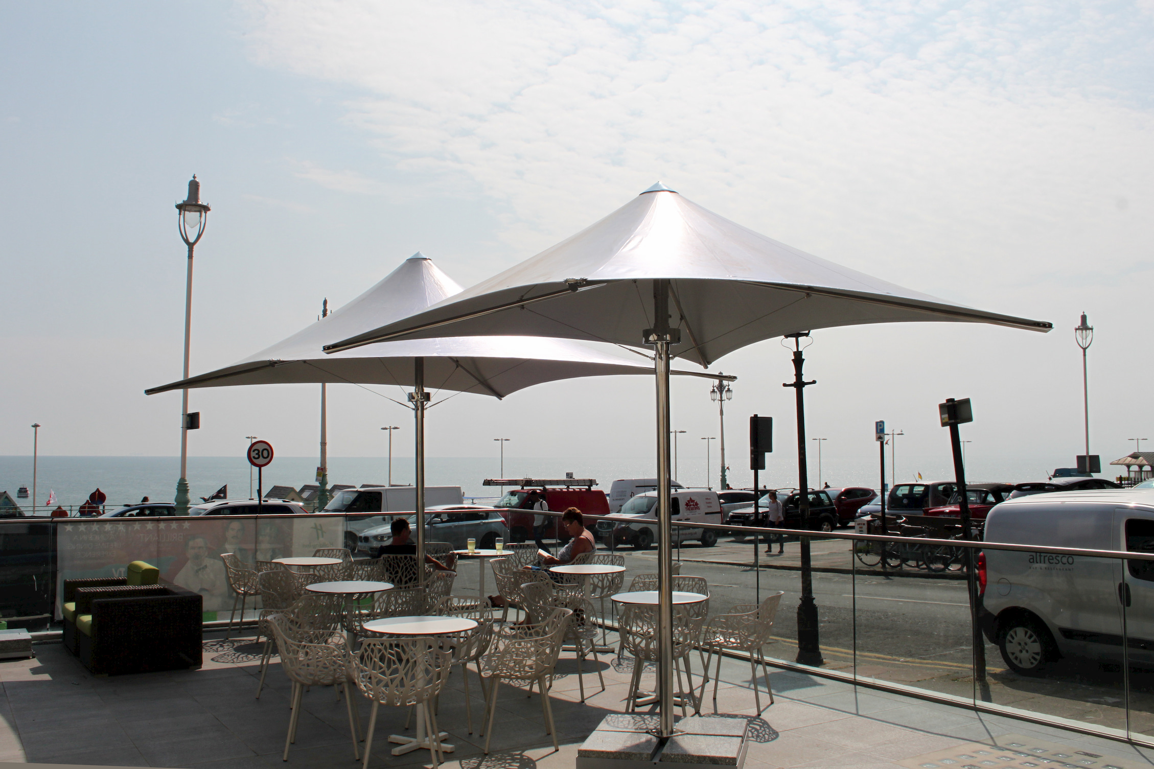 cafe parasol large