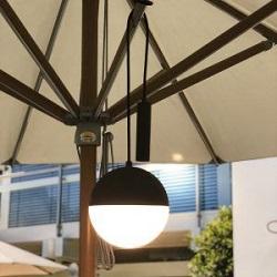 hanging lights for parasol
