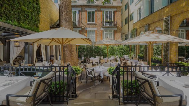 restaurant parasols