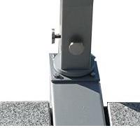 rotating hinge for base