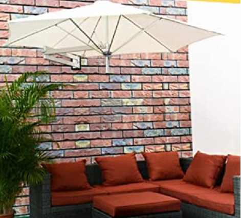 wall mounted parasol for balconies
